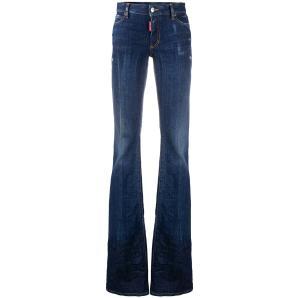 DSQUARED2 midi rise bootcut jeans S75LB0399
