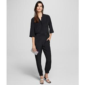 Karl Lagerfeld silk jumpsuit with pleated back 201W1306