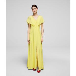 Karl Lagerfeld silk maxi dress 201W1307