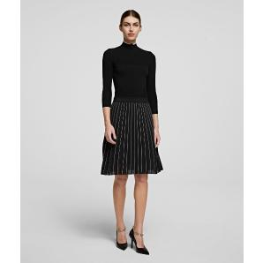 KARL LAGERFELD athleisure knitwear dress 206W1360