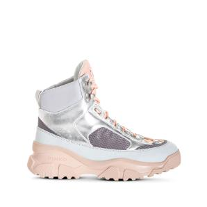 PINKO pinko laminated trek hi-top sneakers 1P21Y0