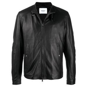 DONDUP bucked collar leather jacket UJ741 PL0238U