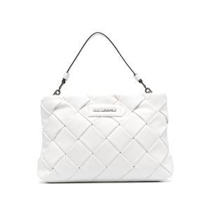 Karl Lagerfeld K/Kushion Braid clutch bag 211W3016