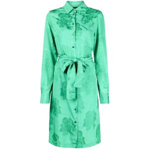 PINKO tied waist floral print dress 1G160J 8405