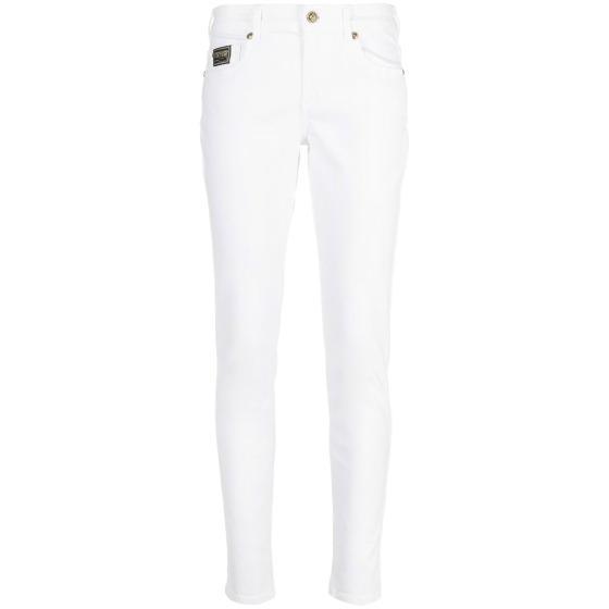 VERSACE mid rise slim cut jeans A1HWA0K5-0