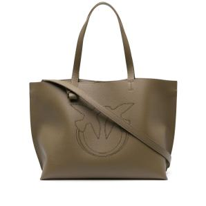 PINKO punch-hole logo tote bag 1P22EN Y7JK