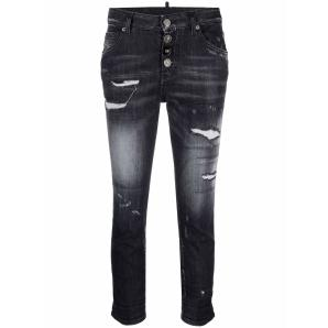 DSQUARED2 cool girl cropped jeans S72LB0422