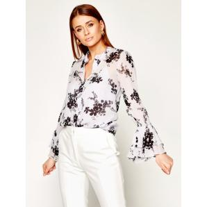 MICHAEL KORS Bloom levander shirt with floral pattern MS04LK8EGE