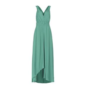 PINKO VISCOSE CREPE DE CHINE LONG DRESS 1B13VU