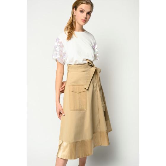 Pinko maxi sequins t-shirt 1B14EA5071-Z05-2