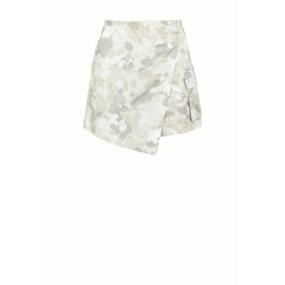 Pinko shorts with camouflage print 1B14FM8028-ZC7-0