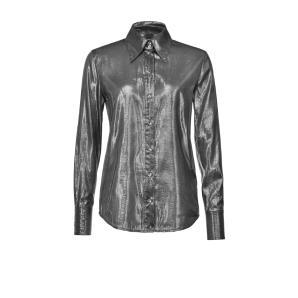 Pinko Lame Fabric Shirt 1B14T2 Y6JA