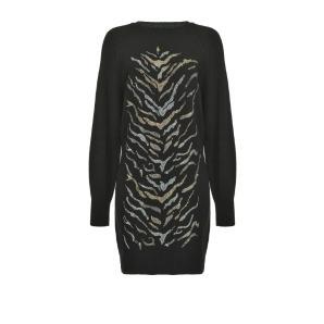 PINKO maxi pullover wit tiger pattern 1B14X3
