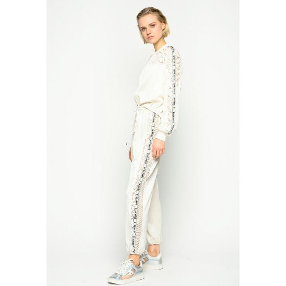 Pinko joggers with lace 1C107G7887-C32-1