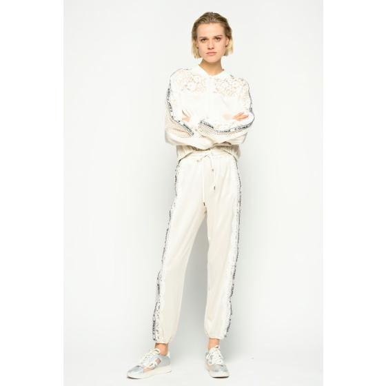 Pinko lace sweatshirt 1C107H7887-C32-1