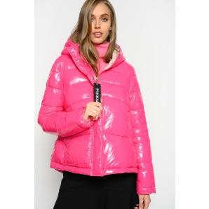 PINKO GLOSSY QUILTED JACKET 1G14G5