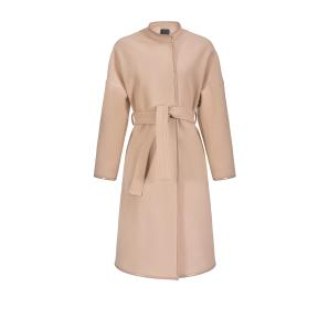 PINKO COAT WITH CONTRASTING EDGING 1G14JJ