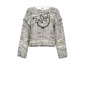 Pinko love birds tweed top 1G14PS