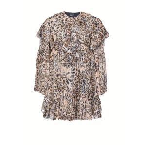 PINKO fil coupe léopard print dress 1G154Q