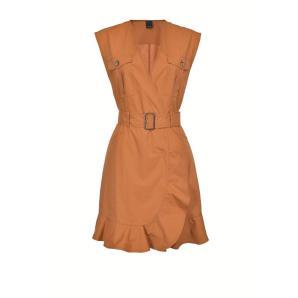 PINKO UTILITY DRESS WITH MATCHING BELT 1G1631