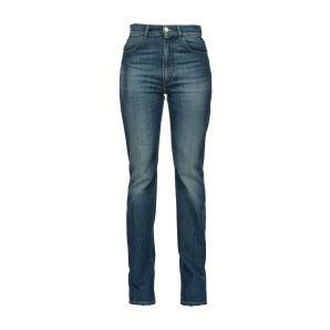 PINKO straight jeans in blue stretch denim 1J10K4