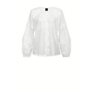 PINKO BRODERIE ANGLAISE BLOUSE 1N132S