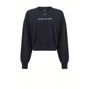 PINKO sweatshirt cropped No Pinko No Party 1N1344 Y7ED