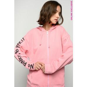 PINKO zipped no pinko no party sweatshirt 1N1345