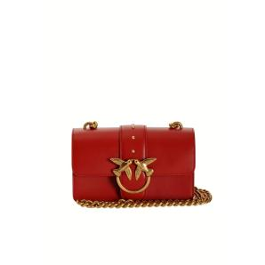 PINKO mini love bag simply in leather 1P21TF