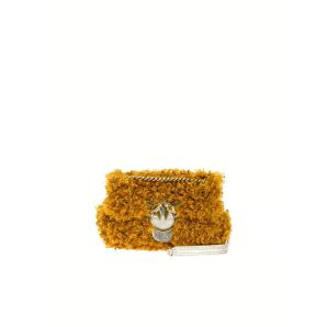 PINKO mini love bag puff furry 1P21UR