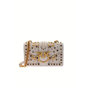 PINKO mini love bag icon with studs 1P21V3