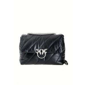 PINKO big love bag puff maxi quilt in napa leather 1P21VM