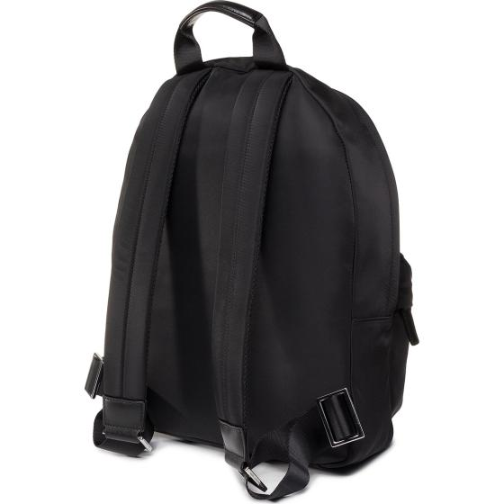 Karl lagerfeld k/ikonik nylon and leather  backpack -2