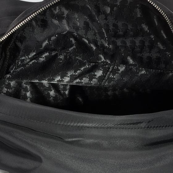Karl lagerfeld k/ikonik nylon and leather  backpack -1