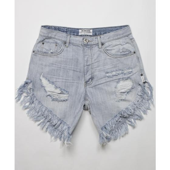 Oneteaspoon diamond frankies long length denim shorts 20265-5