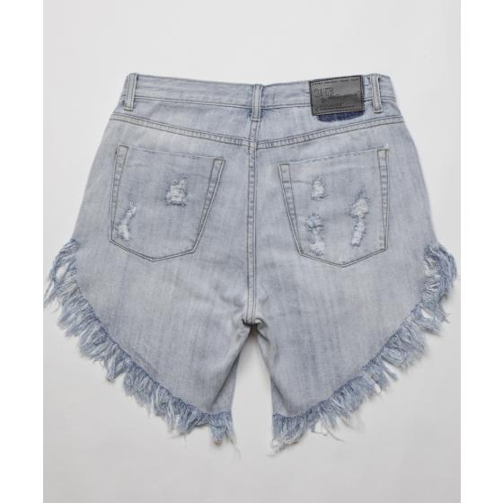 Oneteaspoon diamond frankies long length denim shorts 20265-6