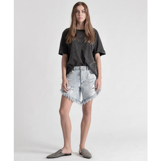 Oneteaspoon diamond frankies long length denim shorts 20265-0