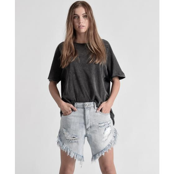 Oneteaspoon diamond frankies long length denim shorts 20265-1
