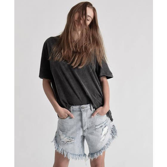 Oneteaspoon diamond frankies long length denim shorts 20265-2