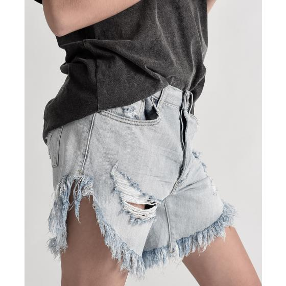 Oneteaspoon diamond frankies long length denim shorts 20265-3
