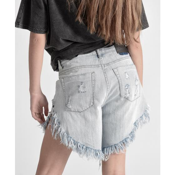 Oneteaspoon diamond frankies long length denim shorts 20265-4