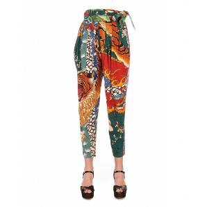 Dsquared2 S72KA0996 Paperbag Silk pants