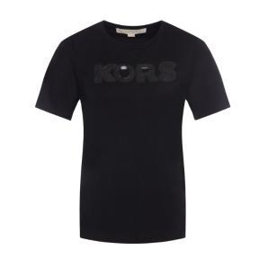 MICHAEL KORS sequin-logo T-shirt MH95MB897J