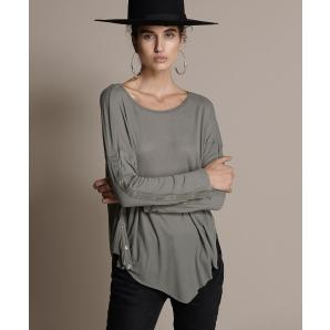 Oneteaspoon bamboo repped long sleeve tee 21531