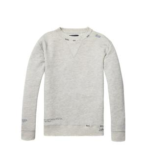 Scotch & Soda soft sweatshirt with doodles