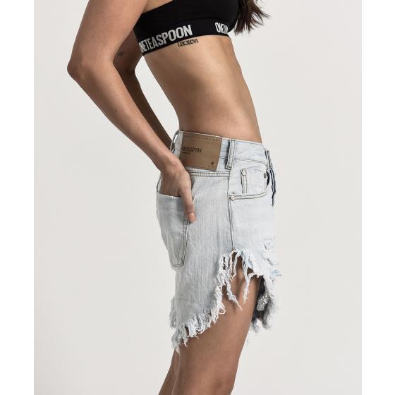 Oneteaspoon brando frankies long length denim shorts 21627-2