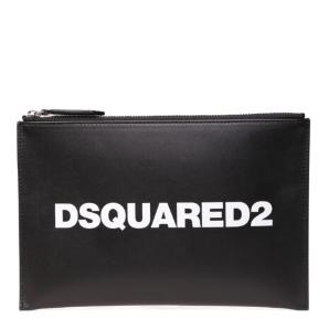 Dsquared2Black leather purse