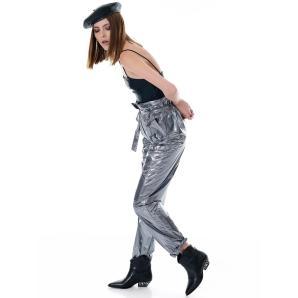 Libelloula metallic waist pants 218-2-04-0016