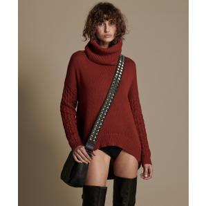 Oneteaspoon blood rider roll neck knit sweater 22419