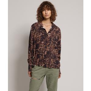Oneteaspoon big cat cropped ringo shirt 22611